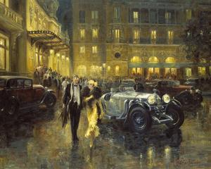 Glamorous Evening by Alan Fearnley