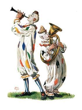 """Musical Clowns,""August 10, 1929 by Alan Foster"