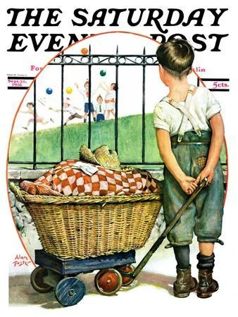 """""""Other Half, Two,"""" Saturday Evening Post Cover, September 26, 1931"""