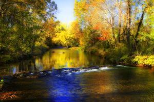 Autumn Waters II by Alan Hausenflock