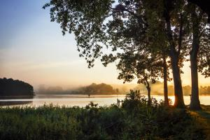 Cobb Island Sunrise IV by Alan Hausenflock