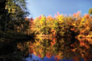 Fall at Three Lakes 2 by Alan Hausenflock