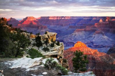 Mather Point Sunset III by Alan Hausenflock
