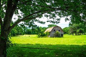 Old Dutch Barn by Alan Hausenflock