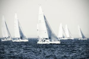 Summertime Race 4 by Alan Hausenflock