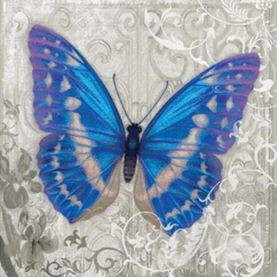 Blue Butterfly I by Alan Hopfensperger