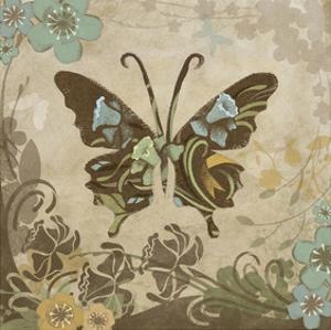 Garden Variety Butterfly V by Alan Hopfensperger