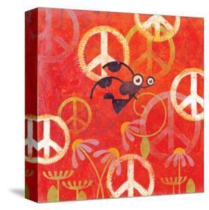 Peace Sign Ladybugs II by Alan Hopfensperger
