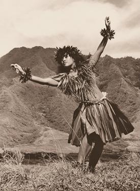 Hawaiian Hula - Dance To Aina (The Land) III by Alan Houghton