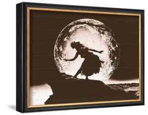 Moon Dancer, Hula Girl by Alan Houghton