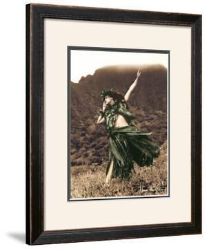 Primitive Hula, Hula Girl by Alan Houghton