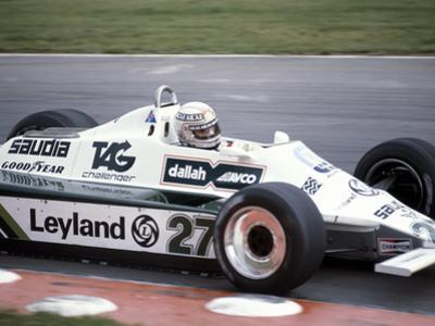 Alan Jones Racing a Williams-Cosworth FW07B, British Grand Prix, Brands Hatch, Kent, 1980