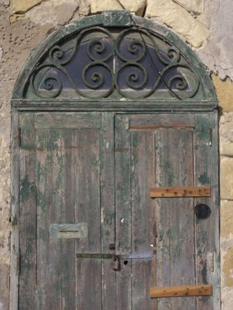 Weathered old door, Valletta, Malta