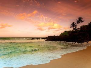 North Shore Dawn, Oahu by Alan Klug