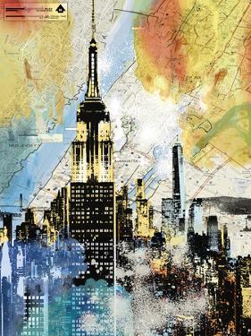 Urban Sights I by Alan Lambert