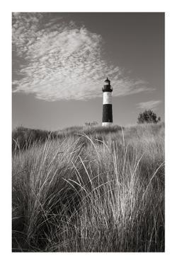 Big Sable Point Lighthouse I BW by Alan Majchrowicz
