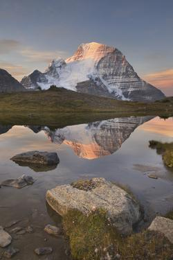 British Columbia. Sunrise over Mount Robson, highest mountain in the Canadian Rockies by Alan Majchrowicz
