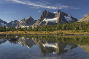 Canada, Alberta. Tonquin Valley, Jasper National Park. by Alan Majchrowicz