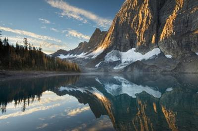 Floe Lake Reflection III by Alan Majchrowicz