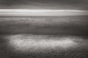 Lake Superior Beach II BW by Alan Majchrowicz