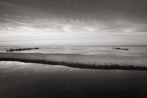 Lake Superior Beach IV BW by Alan Majchrowicz