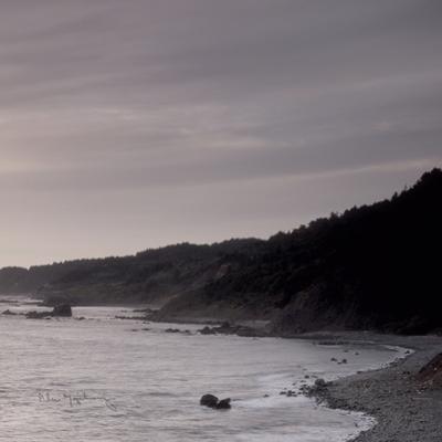 Shoreline Triptych Right by Alan Majchrowicz