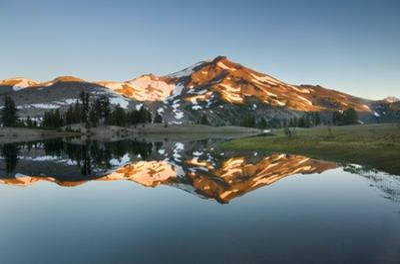 South Sister Reflection II by Alan Majchrowicz