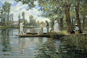 An Idyllic Afternoon by Alan Maley