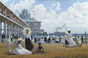 Brighton Beach, Coney Island by Alan Maley