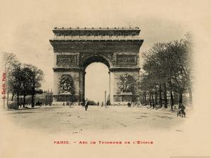 Arc De Triomphe 1903 by Alan Paul