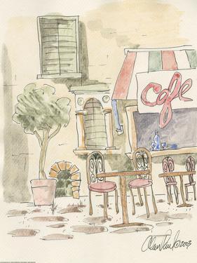 Sidewalk Cafe by Alan Paul