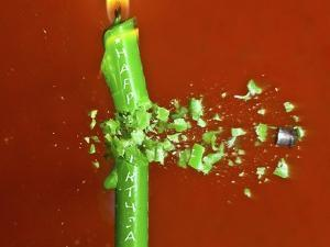 Candle Splat by Alan Sailer