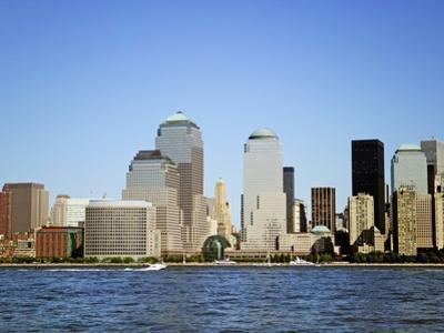 Skyline Across Hudson River