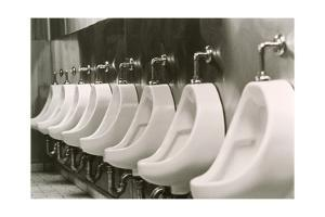 Urinals by Alan Sirulnikoff