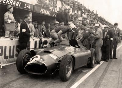 British Grand Prix at Silverstone, 1956 by Alan Smith