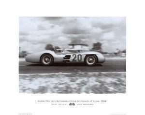Grand Prix de L'A.C.F at Reims, 1954 by Alan Smith