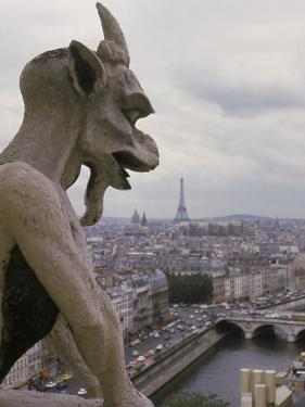 Gargoyle, Notre Dame, Paris, France by Alan Veldenzer
