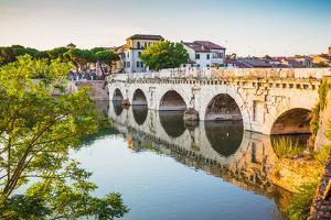 Bridge of Tiberius (Ponte Di Tiberio) in Rimini by Alan64