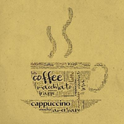 Coffee Cup Of Words