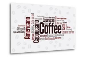 Wordcloud Of Coffee by alanuster