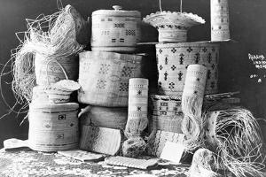Alaska Indian baskets, c.1890-1925