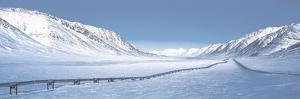 Alaska Pipeline Brooks Range AK