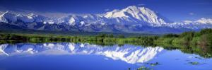 Alaska Range, Denali National Park, Alaska, USA