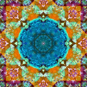 A Mandala from Flower Photographs and Water by Alaya Gadeh