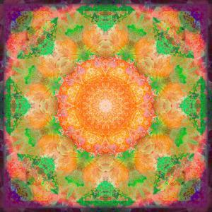 A Many Layered Flower Mandala by Alaya Gadeh