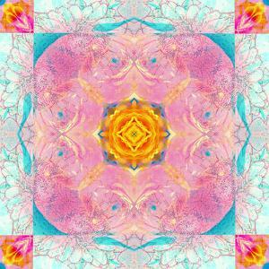 Colorful Symmetric Layer Work from Flowers by Alaya Gadeh