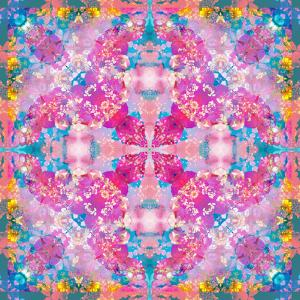 Composing of Flowers in Symmetrical Arrangement by Alaya Gadeh
