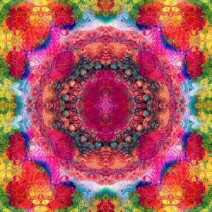 Floral Mandala Ornament by Alaya Gadeh