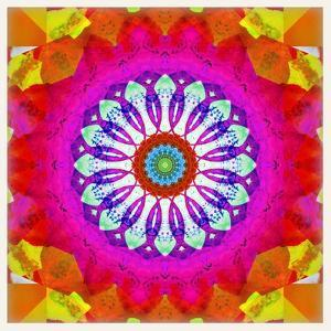 Mandala, Colourful, 'Centre of Your of Soul' by Alaya Gadeh
