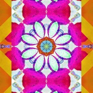 Mandala, Colourful, 'Color Geometry Iii' by Alaya Gadeh